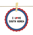 I love south korea4 vector