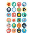 Sports flat icons - vol 1 vector