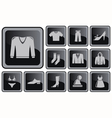 Clothes buttons vector