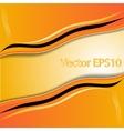 Elegant abstract orange background vector