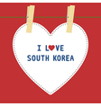 I love south korea5 vector