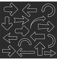 Line arrows vector