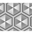 3d abstract lattice seamless pattern vector