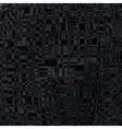 Black background with abstract lines pattern vector