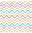 Colorful grunge chevron seamless pattern vector