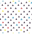 Hand drawn doodle seamless geometric pattern vector