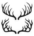 Deer horns vector