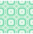 Mint green geometric art deco pattern vector