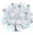 Winter silhouette vector