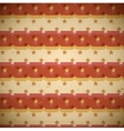Seamless red pattern with shifted stars vector
