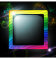 Multicolored frame vector