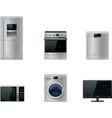 Major appliances set vector