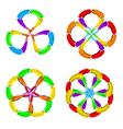 Abstract arrows vector