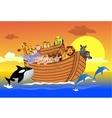 Noah ark vector