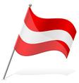 Flag of austria vector