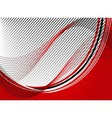 Abstract wavy line background vector
