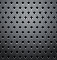 Grid round dots hexagon vector