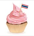 Thai cupcake vector