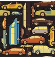 Passenger car background seamless vector
