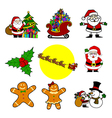 Christmas cartoon vector