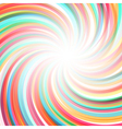 Abstract twisted rainbow background vector