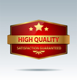 Quality badge vector