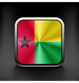 Guinea-bissau icon flag national travel icon vector