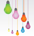 Bulb color vector