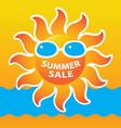 Sale summer vector
