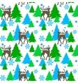 Reindeers in forest vector