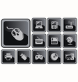 Hardware buttons vector