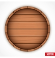 Set of wooden casks for alcohol drinks emblem vector