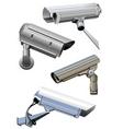 Security camera vector