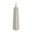 Skyscraper isometric vector
