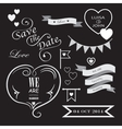 Set of icons for wedding vector