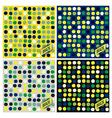 Brazil spots pattern background vector