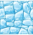 Blue ice seamless pattern vector