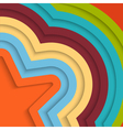 Colorful background with stripes vector