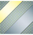Background with ribbons vector