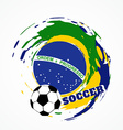 Abstract football game vector