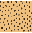 Hand drawn seamless stylized animal skin pattern vector