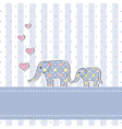 New baby shower invitation card vector
