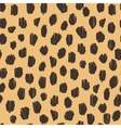 Hand drawn seamless stylized animal skin pattern vector