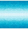 Polygonal blue background vector