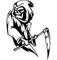 Grim reaper - halloween set - vector