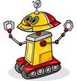 Cartoon robot or droid vector