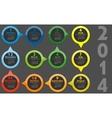 - calendar 2014 vector