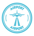 Airport signs vector