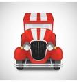 Retro car icon vector