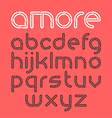 Font from chain vector